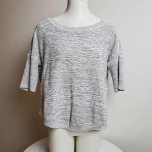 Banana Republic Grey Knit Sweater Medium Gray